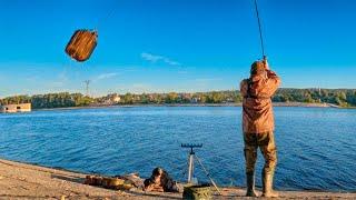 Рыба встала на точку Рыбалка 2020 на фидер осенью Фидерная ловля белой рыбы на реке