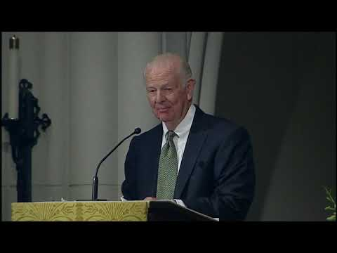 James Baker full emotional eulogy of H. W. Bush [FULL VIDEO]