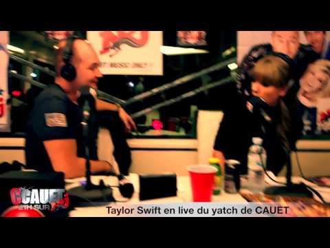 Taylor Swift en live du yacht de CAUET - NMA 2013 - C'Cauet sur NRJ