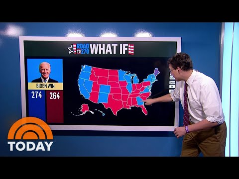 Which Battleground States Do Trump And Biden Need To Win The Presidency? | TODAY