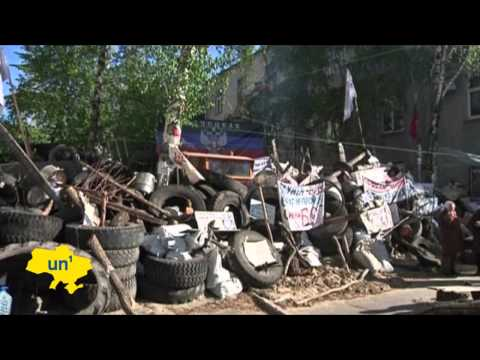 East Ukraine Separatist Crisis: OSCE observers taken hostage by pro-Russian militants in Slovyansk