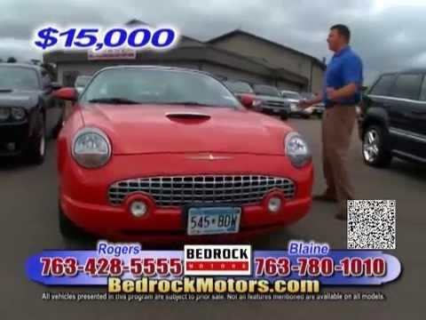 Bedrock Motors Auto Show  August 2012 TV Show Rogers, Blaine, Minneapolis, St Paul, MN