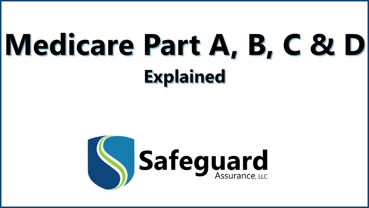 Medicare Part D >> Medicare Part A, B, C and D Explained - YouTube