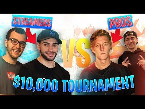 Avxry & NoahJ456 V.S. FaZe Tfue & FaZe Cloakzy - $10,000 Tournament! - Fortnite Battle Royale