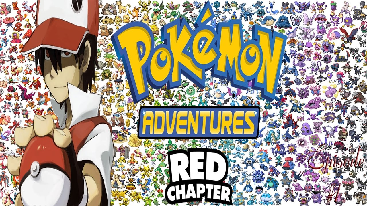 pokemon adventures red chapter 1 red dans ta poche youtube