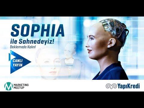 Ünlü Robot Sophia Sorularımızı Yanıtlıyor!