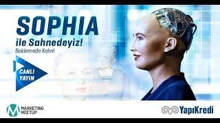 Dünyanın en ünlü robotu Sophia ilk kez Türkiye'de! Ana sponsoru old...