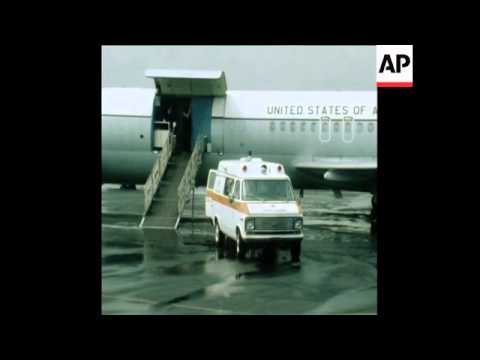 CUTS 16 7 80 ARRIVAL OF IRAN HOSTAGE RICHARD QUEEN ON MEDICAL GROUNDS