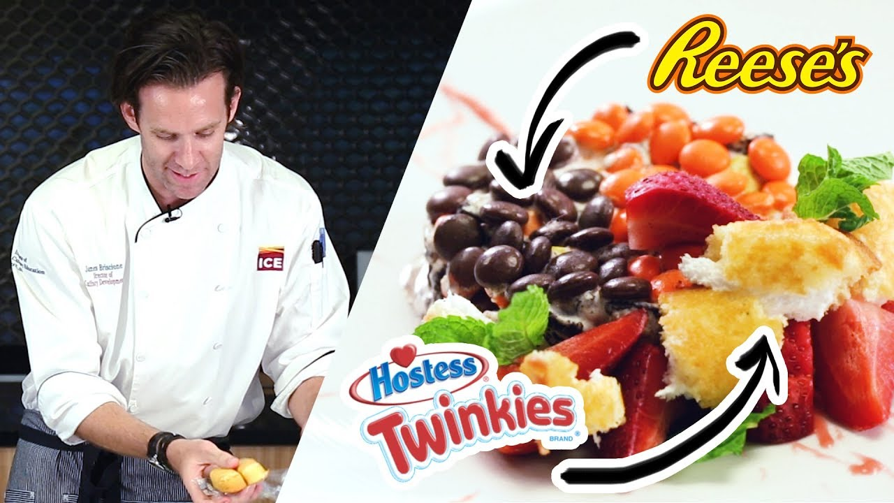 Gourmet Chef Makes A Fancy Junk Food Dessert