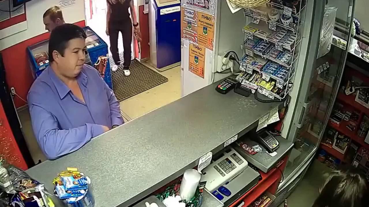 ОДНАЖДЫ В РОССИИ : В обычном магазине ;)
