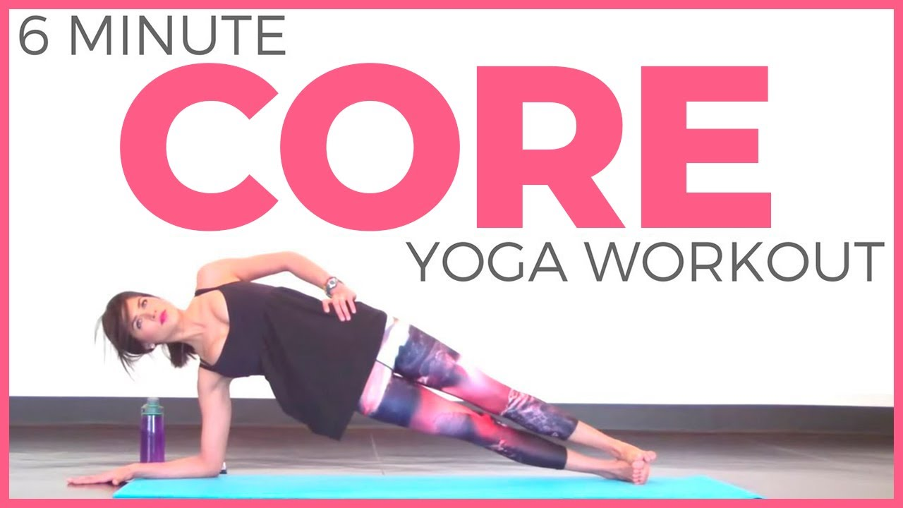 Abs Workout: 11-Minute Power Yoga Core Video advise