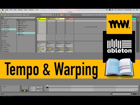 Warping & Tempo // Ableton Live Manual // #10