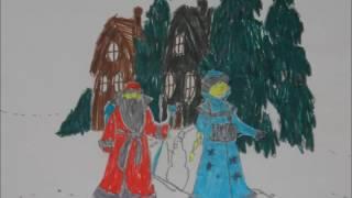 видео Зарисовка на новогоднюю тему