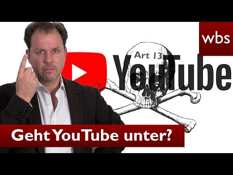 Zerstört Artikel 13 YouTube? - Was es wirklich damit auf sich hat | Rechtsanwalt Christian Solmecke