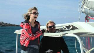 Flisvos Kite surfing and Catamaran sailing trip.mp4