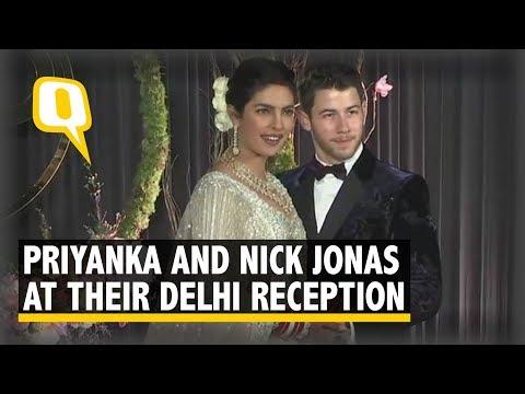 Priyanka Chopra and Nick Jonas at Their Delhi Reception | The Quint