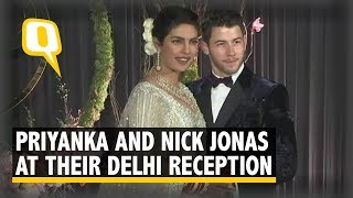 Priyanka Chopra and Nick Jonas at Their Delhi Reception | The Quint