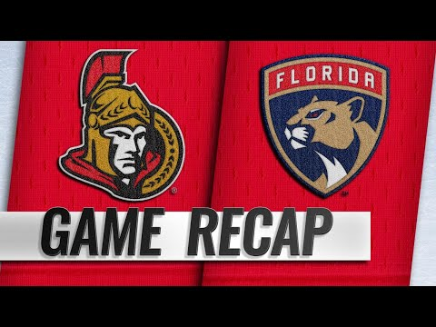 Barkov scores twice as Panthers beat Senators