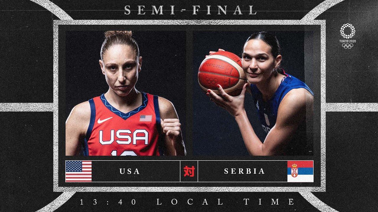 USA v Serbia - Watch along party
