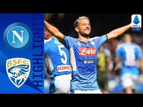 Napoli 2-1 Brescia | Mertens and Manolas Seal Win Depsite Ba