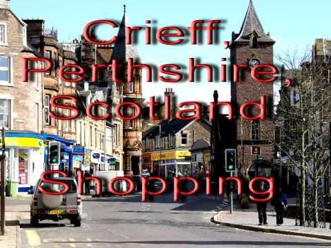 Crieff, shops