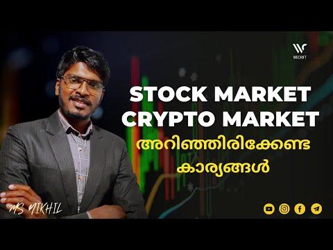 STOCK MARKET AND CRYPTO MARKET