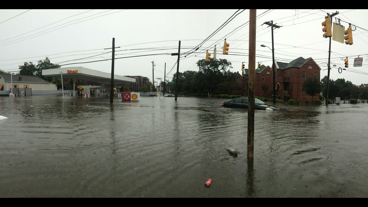 Historic Charleston, SC Flooding - YouTube