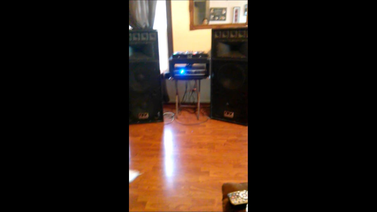 dfx professional audio dj stereo system and speake youtube. Black Bedroom Furniture Sets. Home Design Ideas