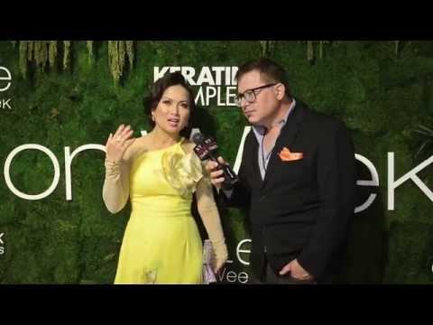 Singer and Actress Ha Phuong at Quynh Paris Style Fashion Week NY