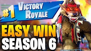 HOW TO WIN GAMES IN FORTNITE SEASON 6 – BEST TIPS TO WIN SOLO, DUOS & SQUADS! Fortnite Battle Royale