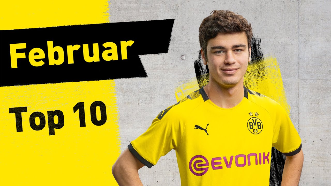 Reyna, Can & 'ne Menge Haaland | Top 10 BVB-Tore im Februar