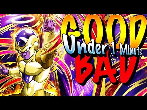 EVERYTHING GOOD AND BAD ABOUT INT (ANGEL) GOLDEN FRIEZA IN 1 MINUTE! Dokkan Battle