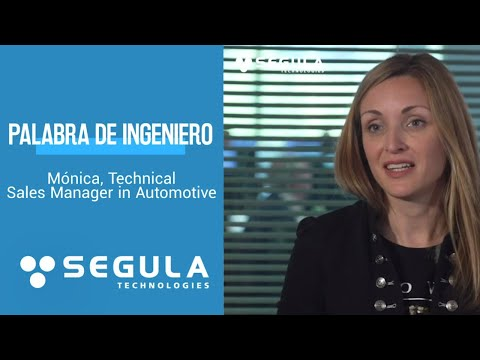 [Palabra de Ingeniero] Mónica, Technical Sales Manager in Automotive