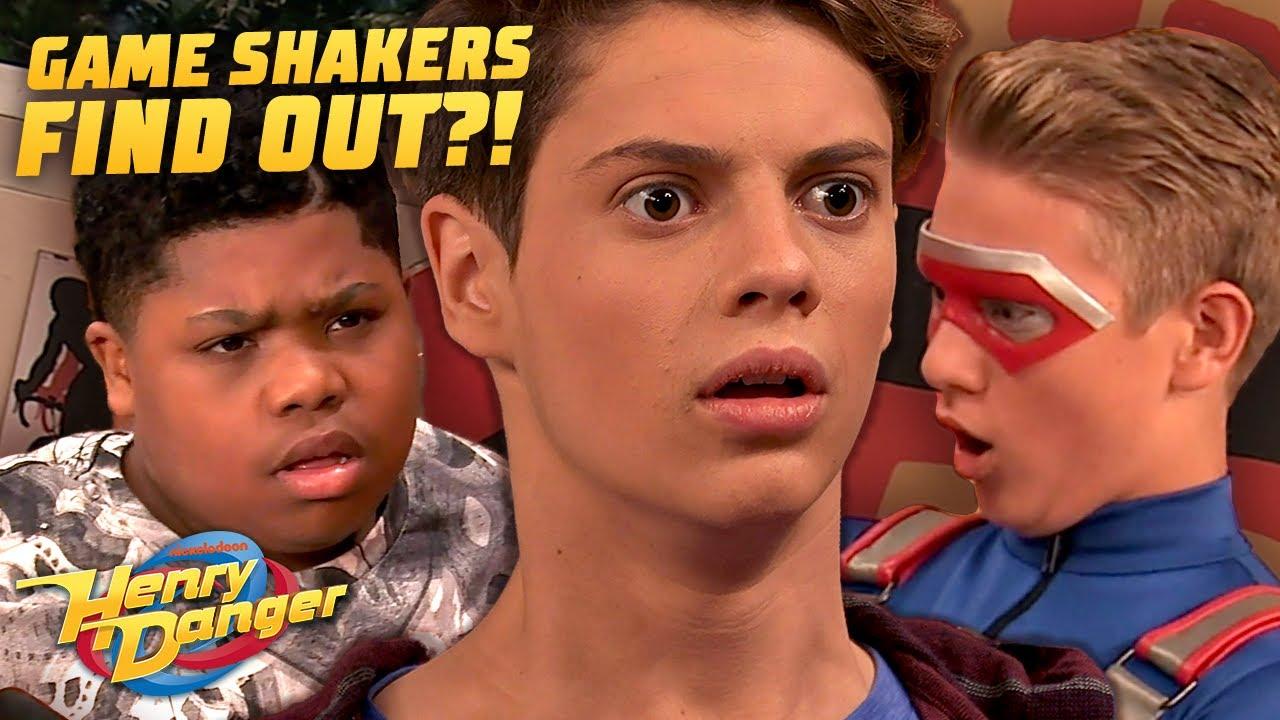 The Game Shakers Find Out Henry's Secret! 😱 Danger Games! | Henry Danger