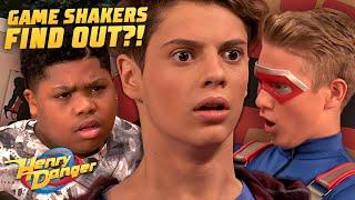 The Game Shakers Fİnd Out Henry's Secret! 😱 Danger Games! | Henry Danger