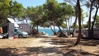 Camping Stupice Premantura and beach