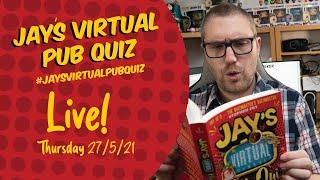 Virtual Pub Quiz, Live! Thursday 27th May