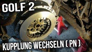 VW Golf 2 -  Kupplung wechseln (  1,6l PN )