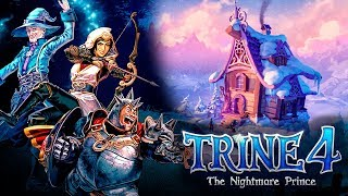 Обзор TRINE 4: The Nightmare Prince - Красивое приключение в СКАЗКУ! (Лучшая инди-игра 2019)