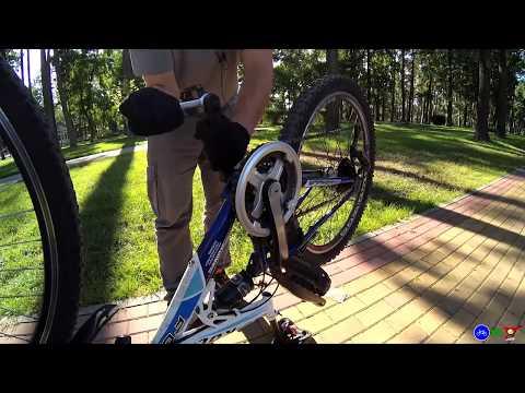 Направление откручивания педалей велосипеда