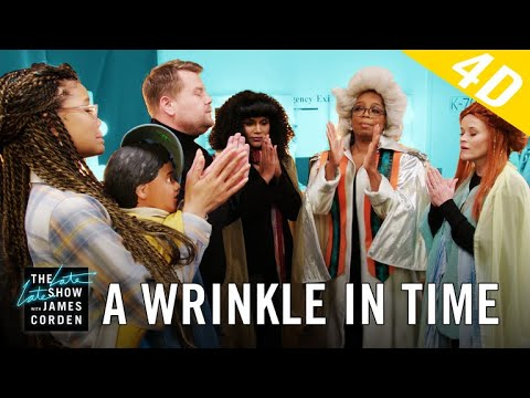 'A Wrinkle in Time' 4D w Oprah, Reese Witherspoon & Mindy Kaling