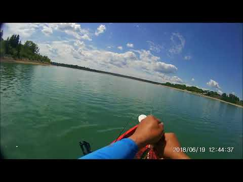 KAYAK FISHING @ GLENMORE RESERVOIR