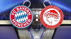 🔴LIVE | FC BAYERN MÜNCHEN 2 : 0 OLYMPIAKOS PIRÄUS | UEFA CHAMPIONS LEAGUE | LIVETALK