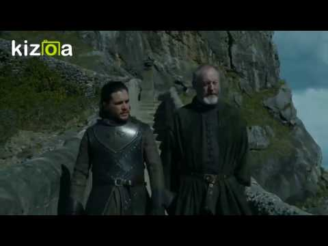 Davos and Stannis correct the Grammar (Fewer/Less)