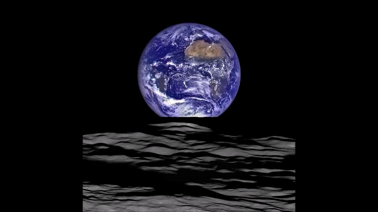 Оказывается Земля огромная при виде с Луны. Фото Земли над ...