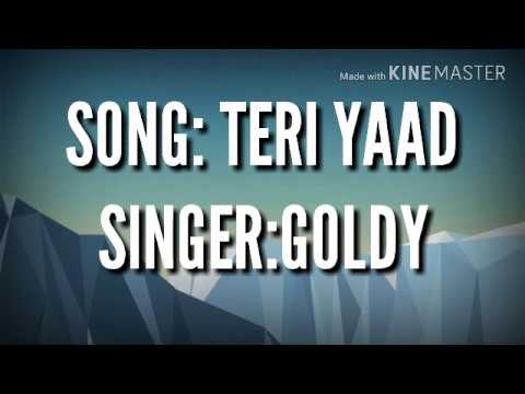 ENGLISH TRANSLATION | TERI YAAD | GOLDY | PARMISH VERMA