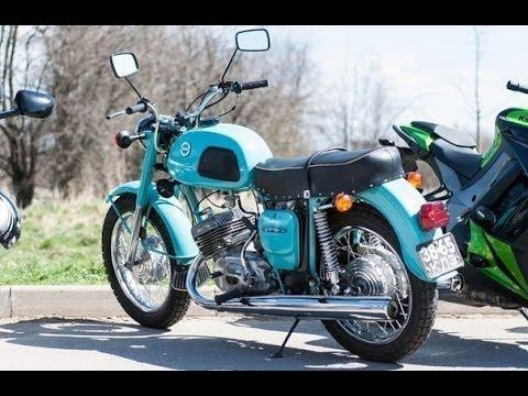 Мотоцикл Ява 350/640 комплектация