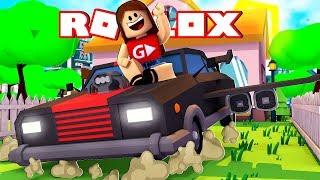 The FLYING CAR-Roblox Bloxburg