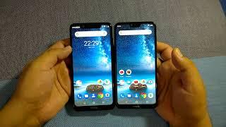 Nokia 5.1 Plus vs Nokia 6.1 Plus design & build quality comparison