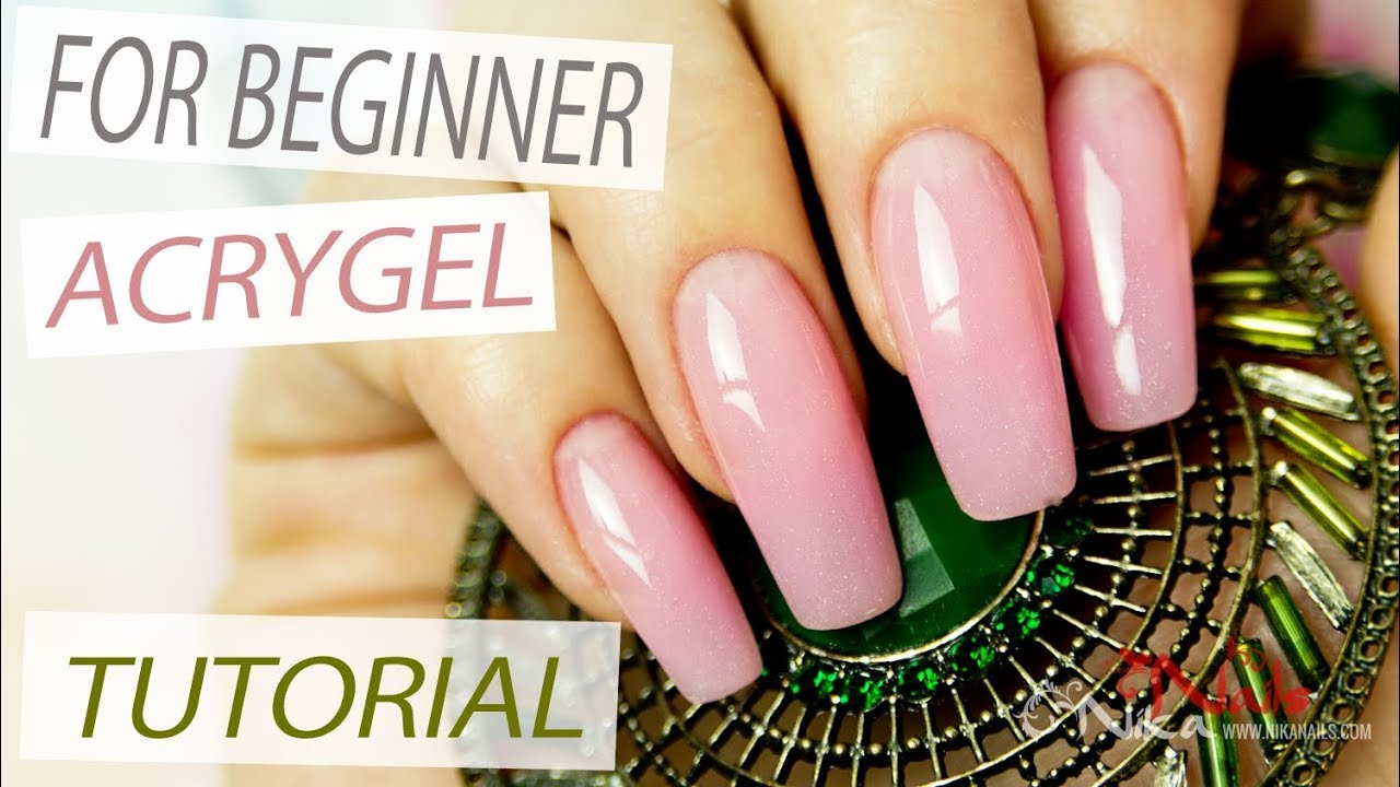 Download AcryGel Nail Extensions Tutorial Step by Step using Nail Forms - Lesson Part 1